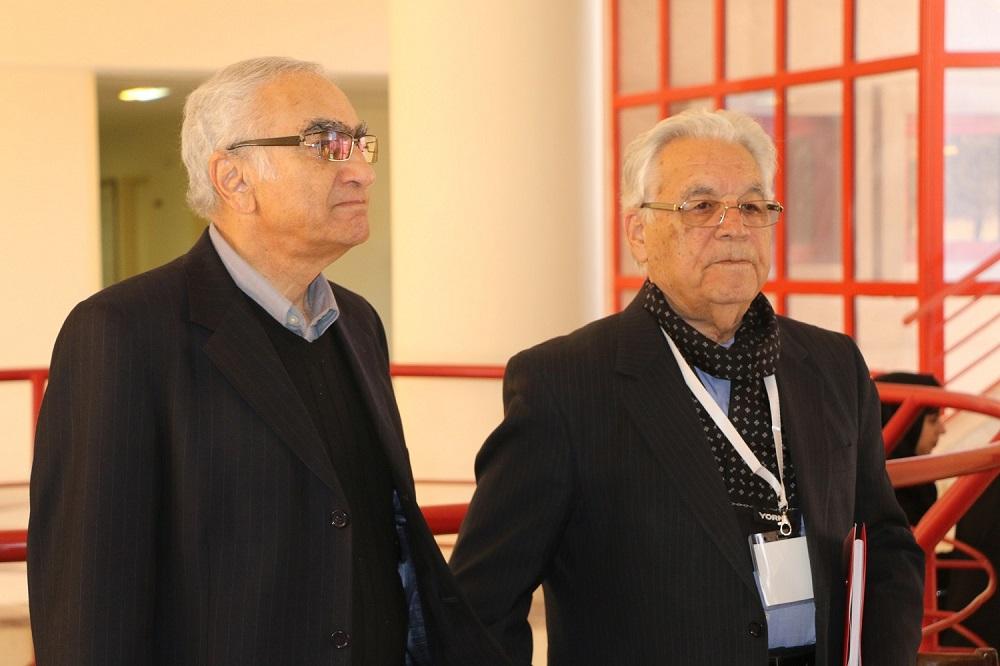 Prof. Sobuti with Prof. Khajehpour