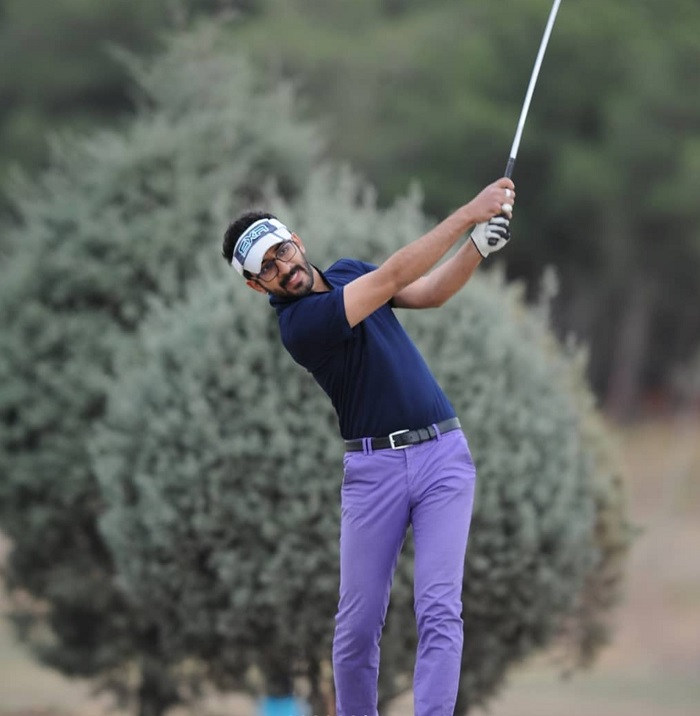 IASBS Computer Science student, Amir Reza Mohammadi, ranks in the top 10 in National Golf Championship