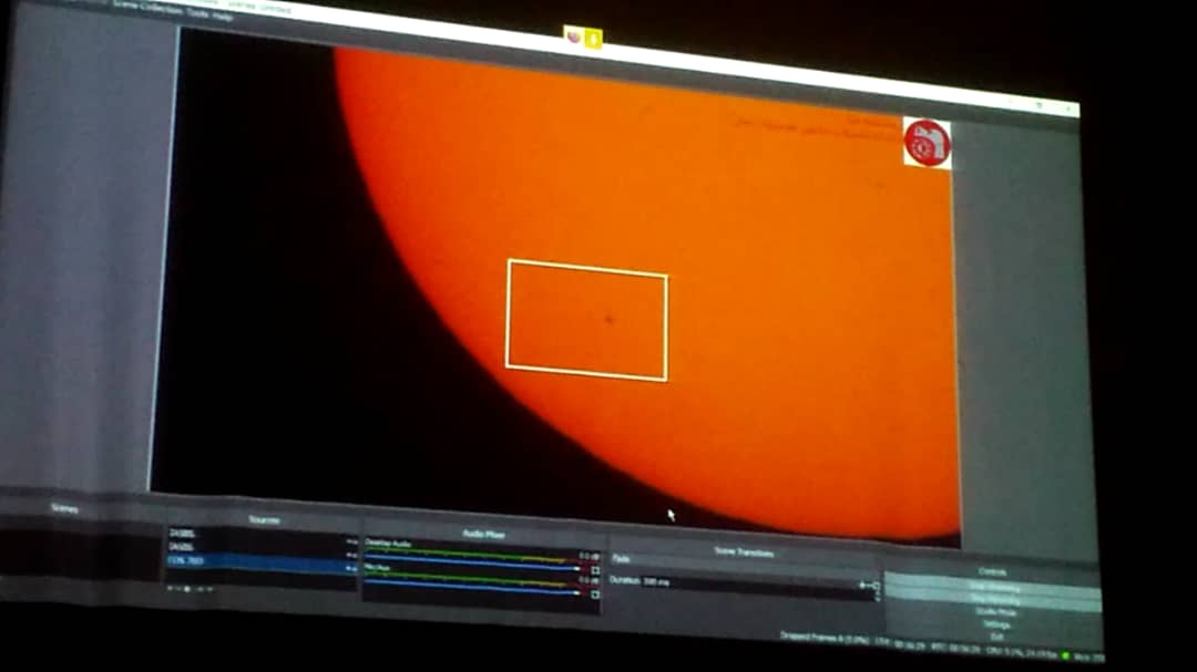 Reopening of IASBS Observatory concurrent with the transit of Mercury across the Sun