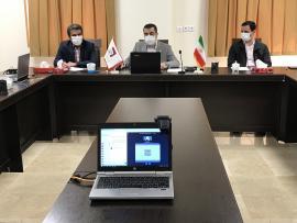 نشست هیات رئیسه دانشگاه با دانشجویان به صورت مجازی (وبینار) برگزار شد