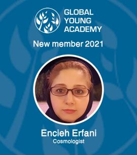 IASBS physics faculty Dr Encieh Erfani selected member of Global Young Academy