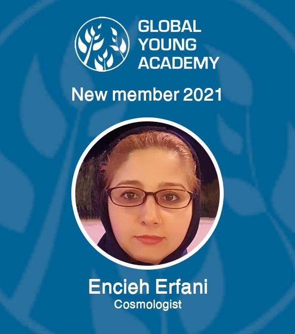 عضو هیات علمی دانشکده فیزیک دانشگاه، به عضویت آکادمی جوانان جهان انتخاب شد