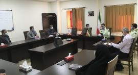 Zanjaan Province's Police Chief meets with IASBS President