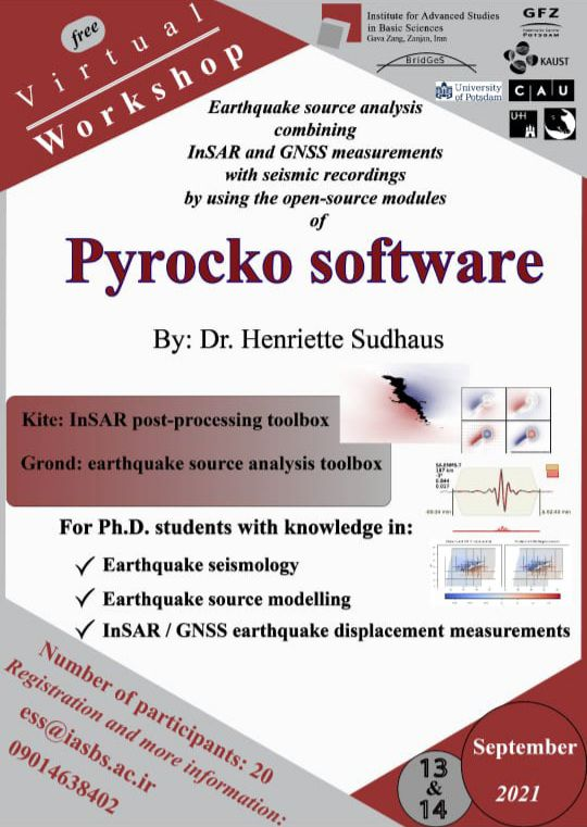 Workshop on earthquake source analysis combining InSAR and GNSS measurements with seismic recordings using open-source modules of the Pyrocko project