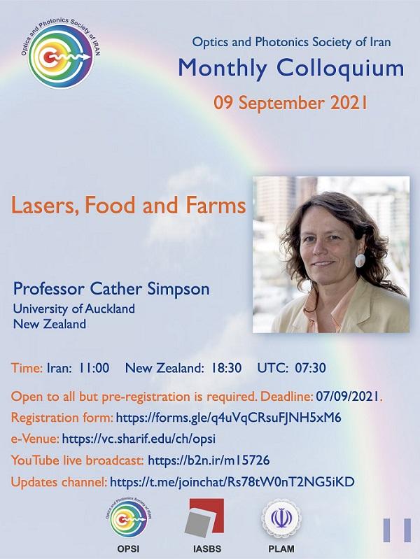 Prof Cather Simpson speaks in 11th OPSI monthly e-colloquium