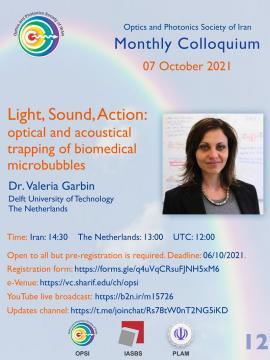 Dr Valeria Garbin speaks in 12th OPSI monthly e-colloquiu