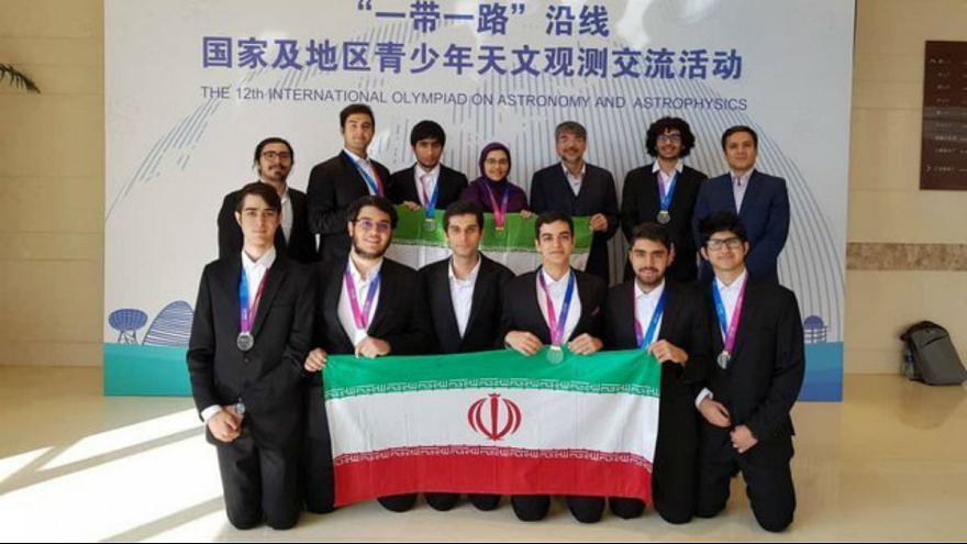 تیم المپیاد دانشآموزی جمهوری اسلامی ایران به سرپرستی دکتر حسین حقی، مقام نخست دوازدهمین المپیاد جهانی نجوم و اخترفیزیک را بهدست آورد